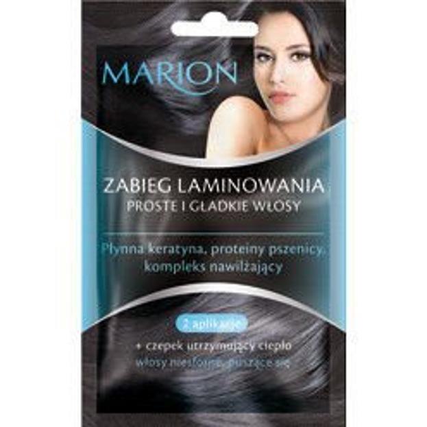 Marion Zabieg Laminowania do włosów, 2xsaszetka