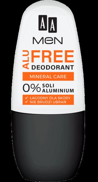 AA MEN Alu Free Deodorant Mineral Care 50ml