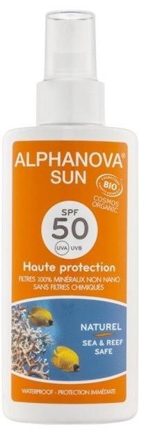 ALPHANOVA SUN Spray przeciwsłoneczny 50 SPF 125ml