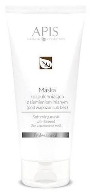 APIS Professional- Maska rozpulchniająca z siemieniem lnianym 200 ml