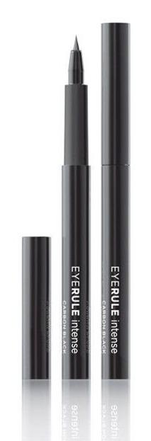 Ace Of Face Eye Rule Intense Carbon Black Waterproof Eyeliner - Wodoodporny, czarny eyeliner w pisaku, 3 ml