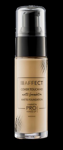 Affect COVER TOUCH HD Matte Foundation Matujący podkład do twarzy Tone 3 27ml