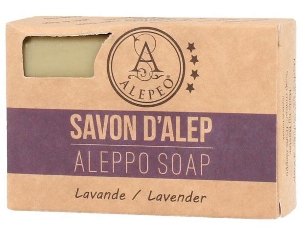 Alepeo Aleppo Soap Lavande Naturalne mydło Aleppo 100g