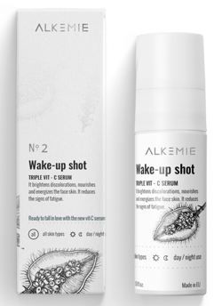 Alkemie Wake-up shot! Serum z potrójną witaminą C 30ml