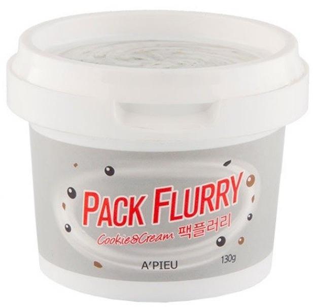A'pieu Pack Flurry Cookie&Cream  Maseczka oczyszczająca 130g