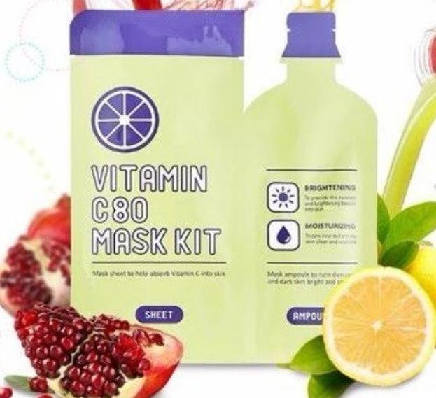 A'pieu Vitamin C80 Mask Kit Maska w płachcie 27g