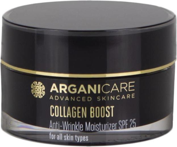 ArganiCare Collagen Boost Anti Wrinkle Moisturizer SPF25 Przeciwzmarszczkowy krem do twarzy SPF25 50ml