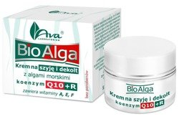 Ava Bio Alga Krem na szyję i dekolt z witaminami A, E i F 50ml