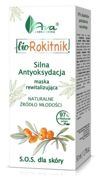 Ava Bio Rokitnik 2 - Maska do twarzy 50 ml
