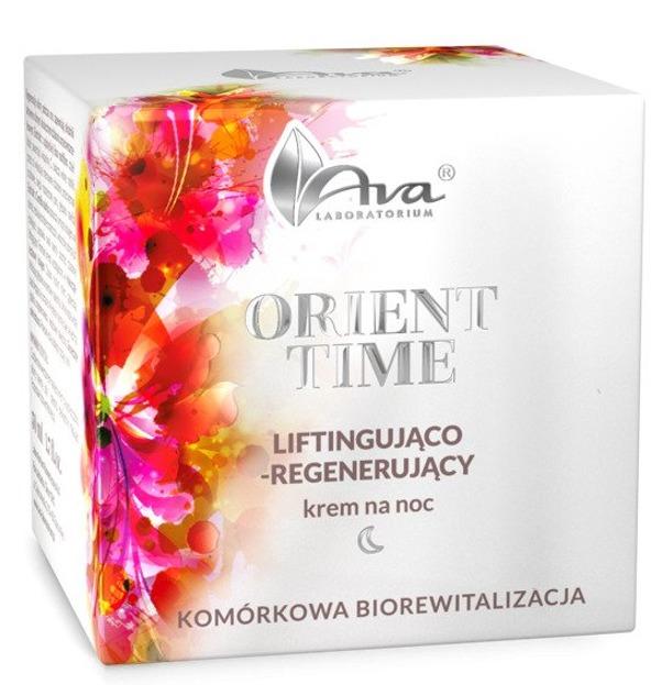 Ava ORIENT TIME Liftingująco-regenerujący krem na noc 50ml