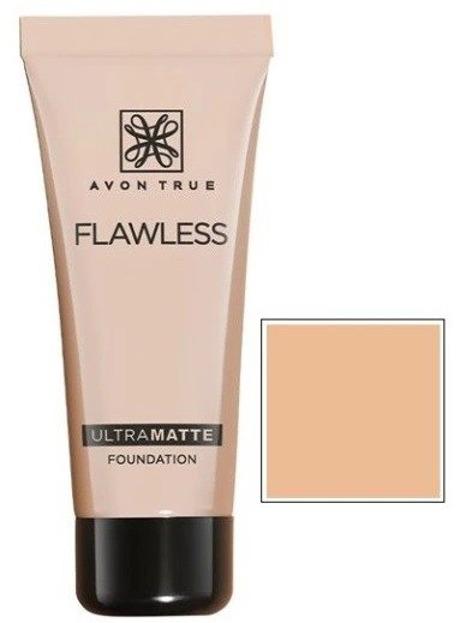 Avon Flawless ULTRAMATTE Podkład matujący LIGHT BEIGE 30ml