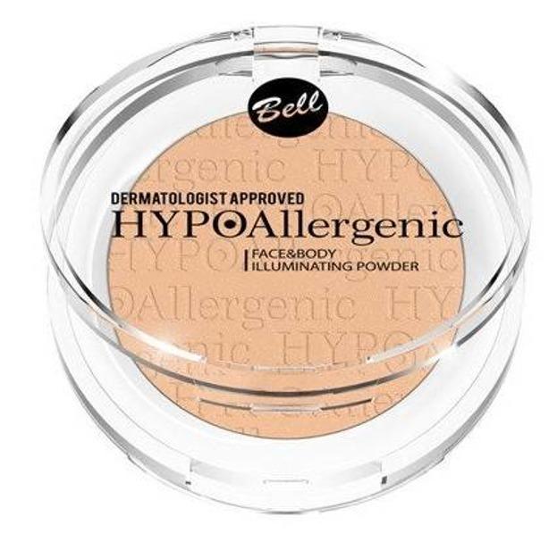 BELL Face&Body Illuminating powder Rozświetlacz do twarzy i ciała 02 neutral 6g