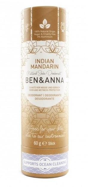 BEN&ANNA Naturalny dezodorant w sztyfcie INDIAN MANDARIN 60g
