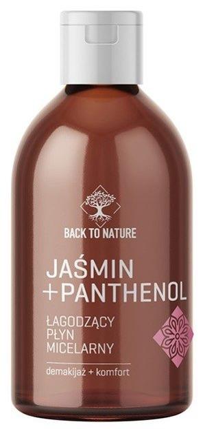 Back To Nature Łagodzący płyn micelarny Jaśmin+Panthenol 295ml