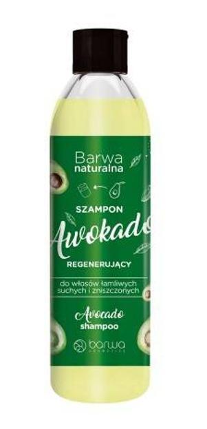 Barwa Naturalna Regenerujący szampon do włosów Awokado 300ml