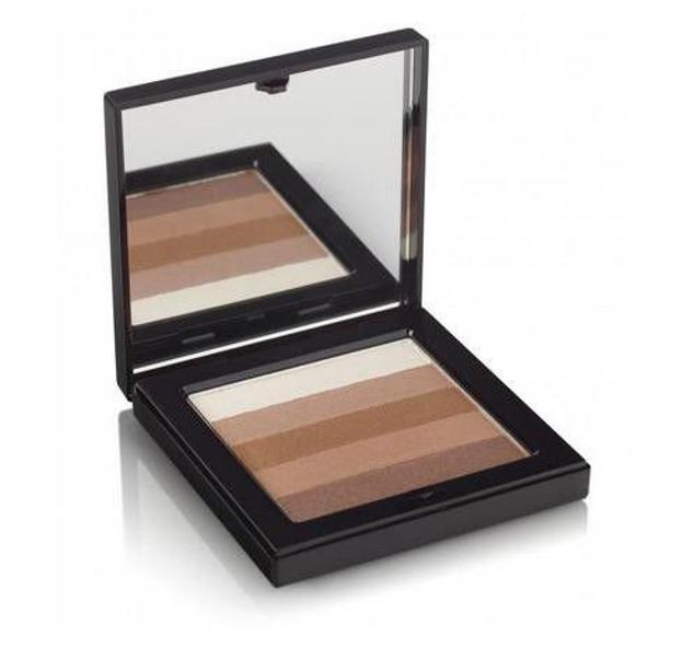 Beauty UK Shimmer box powder blush Bronze 1 - Rozświetlający puder brązujący