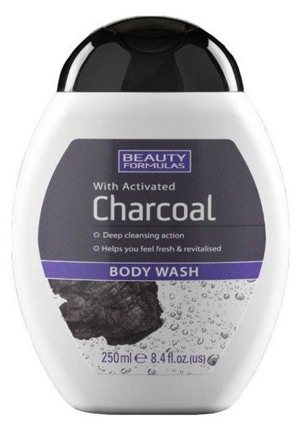 BeautyFormulas Charcoal Żel do mycia ciała 250ml