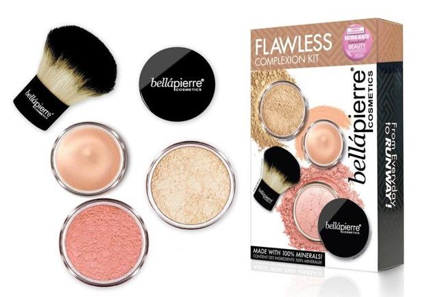 Bellapierre Flawess Kit Fair Zestaw mineralnych kosmetyków do makijażu