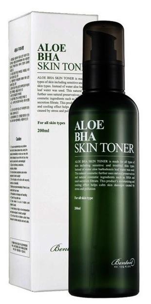 Benton Aloe BHA Skin Toner - Tonik do twarzy 200ml