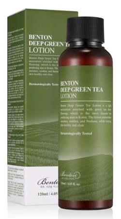 Benton Deep Green Tea Lotion Lekka emulsja do twarzy 120ml