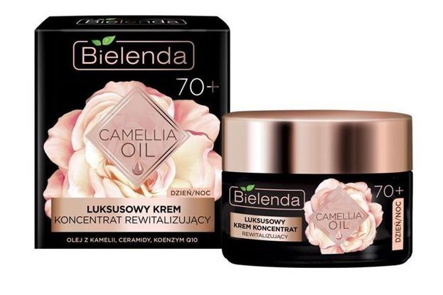 Bielenda Camellia Oil Luksusowy krem-koncentrat rewitalizujący 70+ 50ml