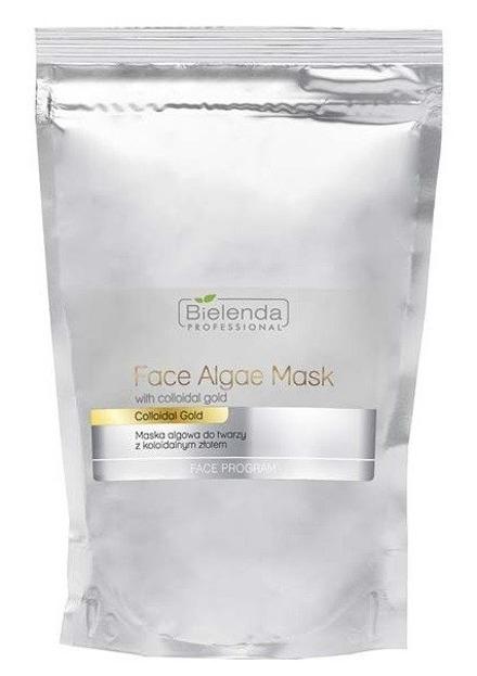 Bielenda Professional Maska algowa do twarzy z koloidalnym złotem ZAPAS 190g