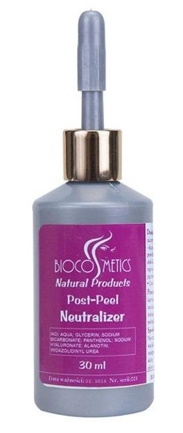 BioCosmetics Post-Peel Neutralizer - Neutralizator do kwasów, 30 ml