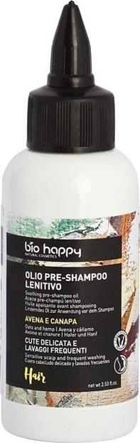 BioHappy Kojąco-regenerujący olejek do włosów Owies&Konopie 75ml