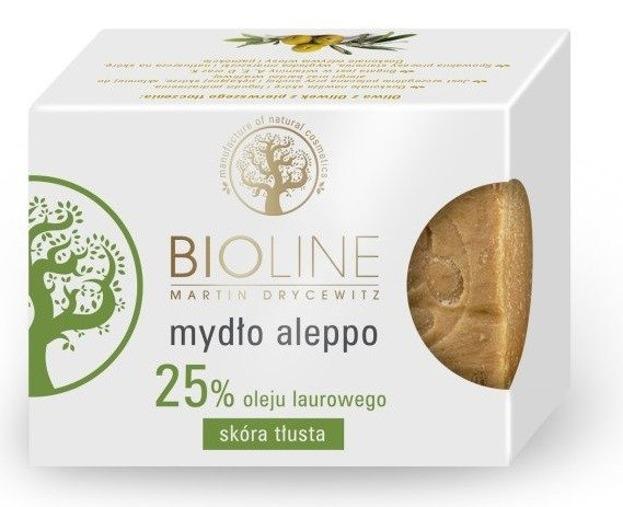 Bioline Mydło Aleppo 25% 200g