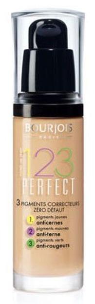 Bourjois 123 Perfect Foundation - Korygujący podkład do twarzy, 52 Vanilla