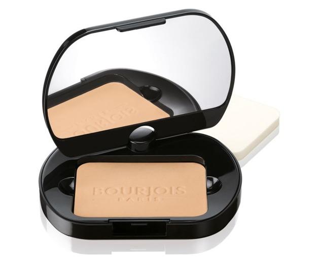 Bourjois Silk Edition Compact Powder - Puder w kompakcie 53 Golden Beige, 5,8 g