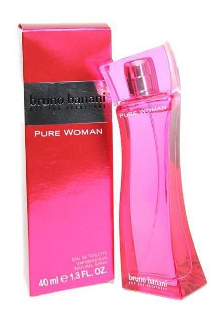 Bruno Banani Pure Woman EDT 40ml Woda toaletowa dla kobiet