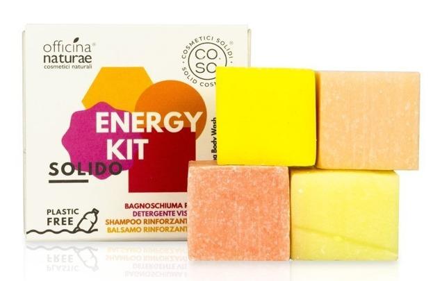 CO.SO Solid ENERGY KIT Zestaw mini kosmetyków w kostce 4x25g