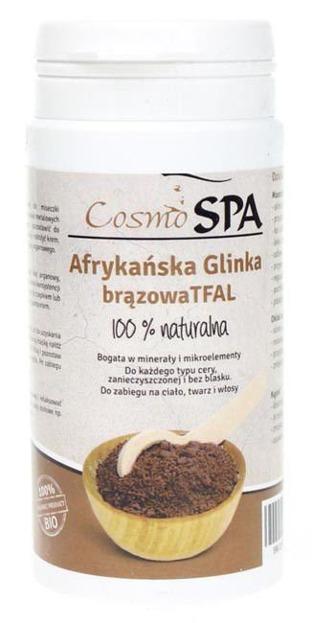 CosmoSPA Afrykańska glinka brązowa Tfal Ghassoul 100g