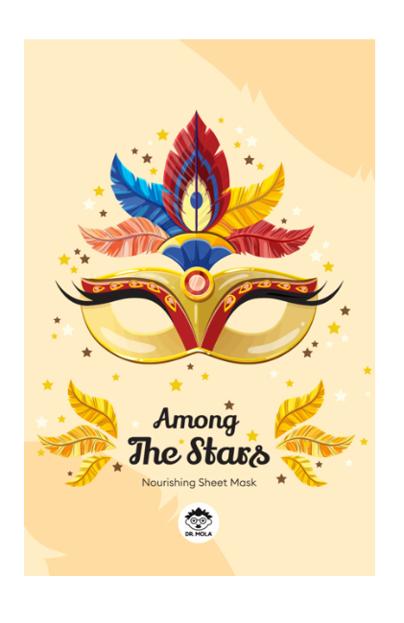 DR.MOLA Among The Stars sheet mask Nourishing Odżywcza maska w płachcie 23ml