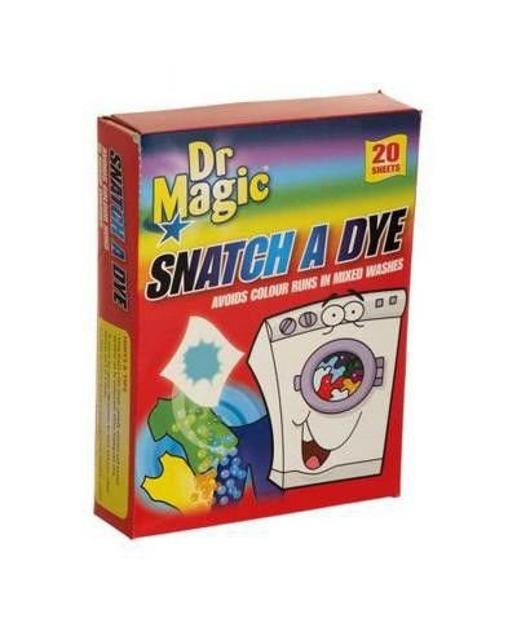 DR Magic Snatch A Dye - Chusteczki do prania wyłapujące kolor, 20 sztuk