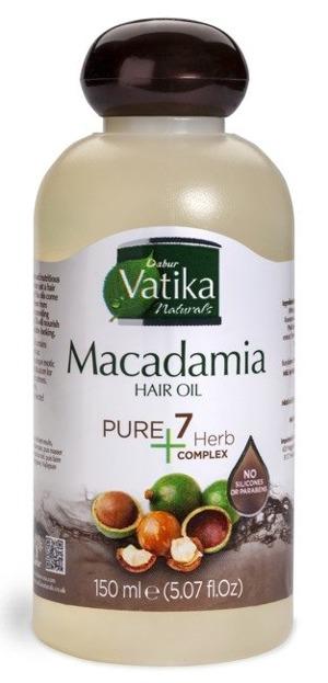 Dabur Vatika Macadamia Hair Oil Olejek do włosów 150ml