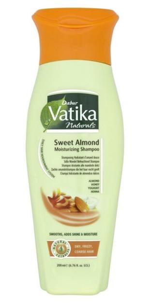 Dabur Vatika Sweet Almond Moisturizing Shampoo- Nawilżający Szampon Słodkie Migdały, 200ml