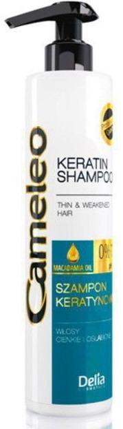 Delia Cameleo Szampon keratynowy włosy cienkie i osłabione, 250 ml