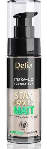 Delia STAY FLAWLESS MATT SKIN DEFINED 16H Podkład matujący 403 30ml