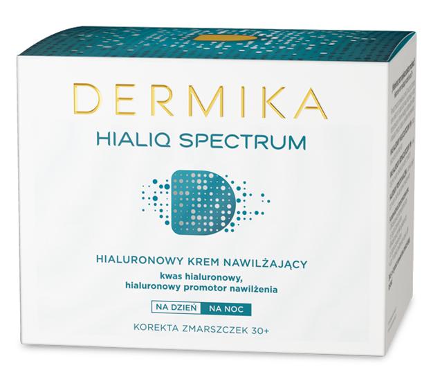 Dermika Hialiq Spectrum Krem nawilżający do twarzy 30+ na dzień i na noc 50ml