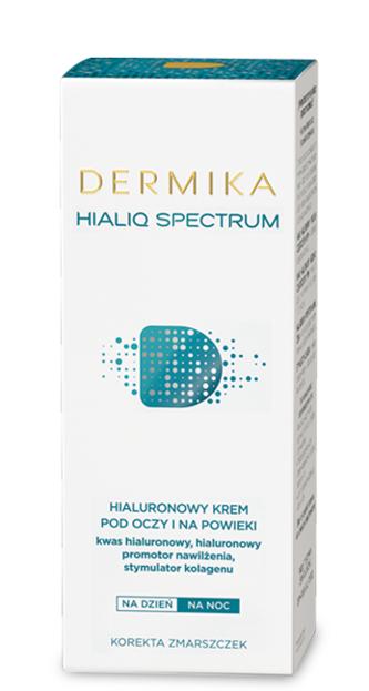 Dermika Hialiq Spectrum Krem pod oczy na dzień i na noc 15ml