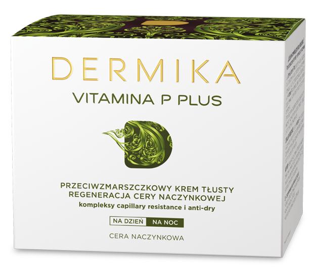 Dermika Vitamina P Plus Przeciwzmarszczkowy krem tłusty 50ml