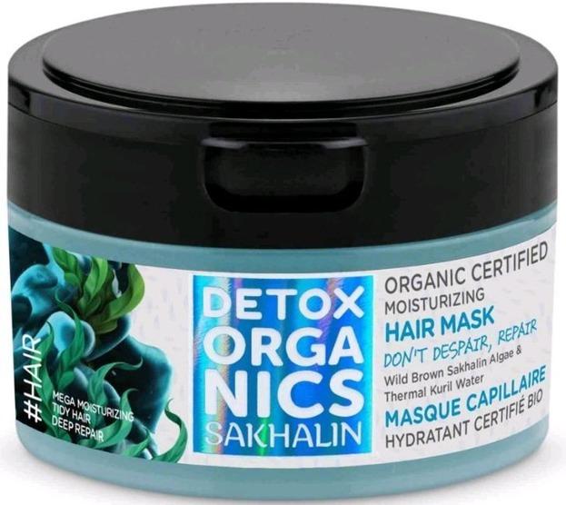 Detox Organics maska nawilżająca do włosów  200ml