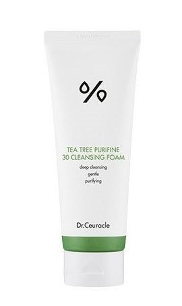 Dr.Ceuracle Tea tree Purifine 30 Cleansing Foam Delikatna pianka do mycia twarzy 150ml