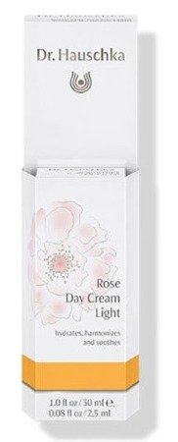Dr. Hauschka Rose Day Cream Light Lekki różany krem do twarzy na dzień 30ml