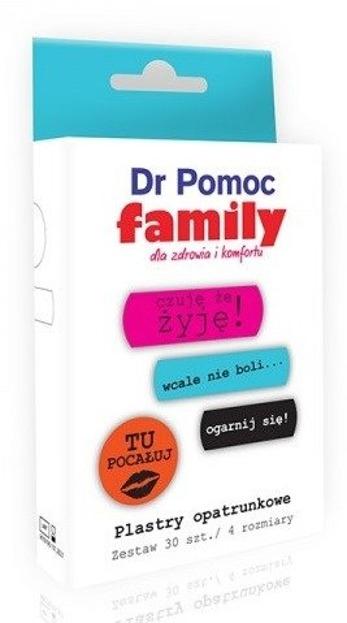 Dr Pomoc Plastry opatrunkowe Family 30szt