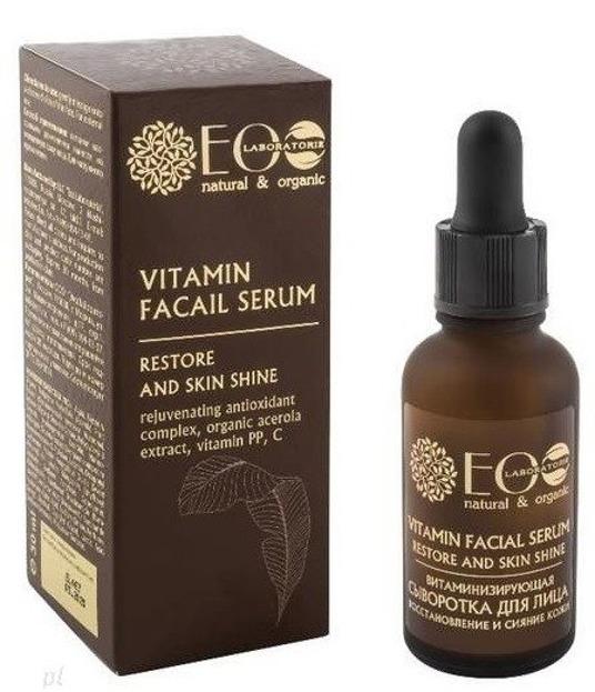 EOLAB Witaminowe serum do twarzy regulujące wydzielanie sebum 30ml