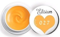 Elisium UV Gel Elisium UV Gel 027 Peach 5ml Farba żelowa do zdobień