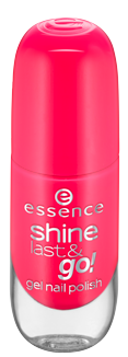Essence Shine Last&Go! Żelowy lakier do paznokci 13 Legally pink 8ml